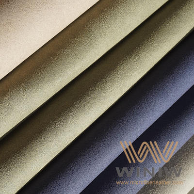 Microfiber Synthetic Suede Leather Fabric for Sofa