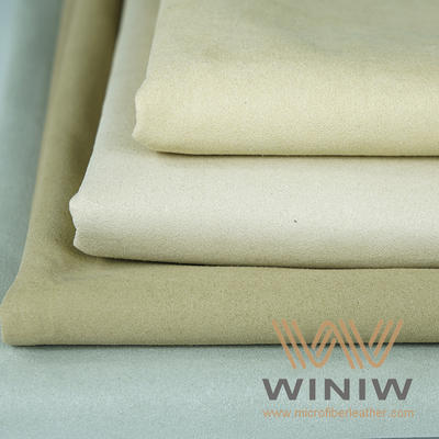 High quality Microfiber Suede Shoe Lining fabric
